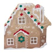 Classic Gingerbread Shaped Napkins
