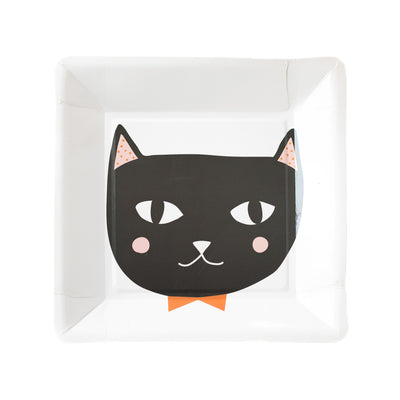 Square Cat Plates Party Essential