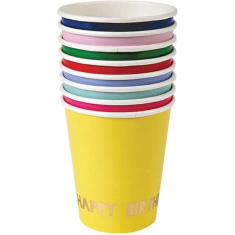 Perfect Party in a Box Happy Birthday Paper Party Cups Party Supplies