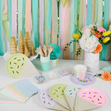 We love ice cream Party Supplies and Decorations