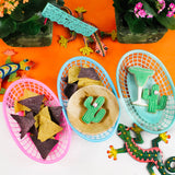 Fiesta Food Baskets with Cactus Cookies