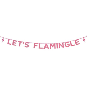 Perfect Party in a Box Let's Flamingle Banner