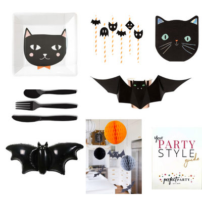 Cats and Bats Party  Vision Board