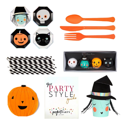 Happy Halloween Party Box Vision Board