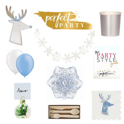 Perfect Party Vision Board with Nordic Party Supplies