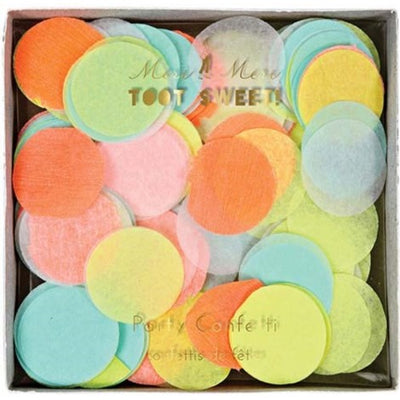 Neon Confetti Party Supplies
