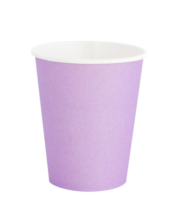 Perfect Party in a Box Lilac Paper Party Cups Party Supplies