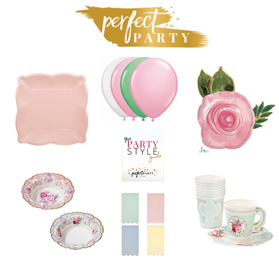 Petite Little Tea Party In a Box Vision Board
