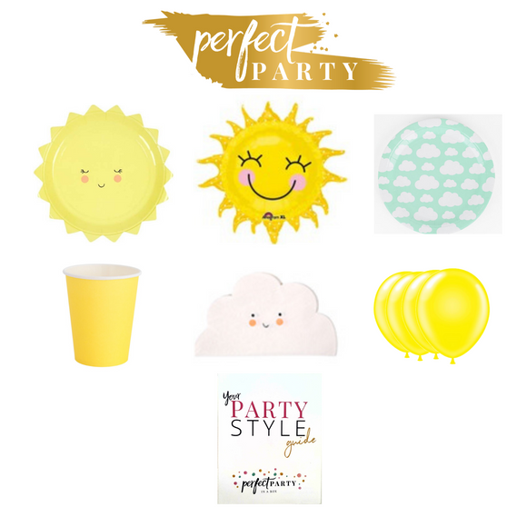 YOU ARE MY SUNSHINE PETITE PARTY