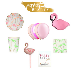 Let's Flamingle Petite Party in a Box Vision Board