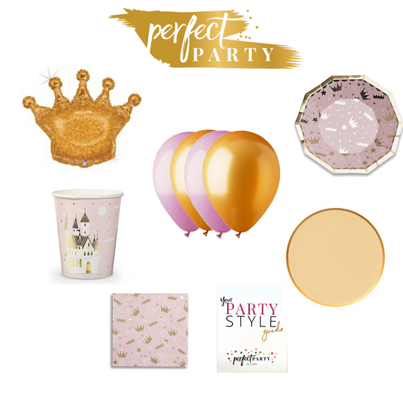 Princess Petite Party Vision Board