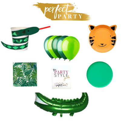 Into the Jungle Party Box Vision Board