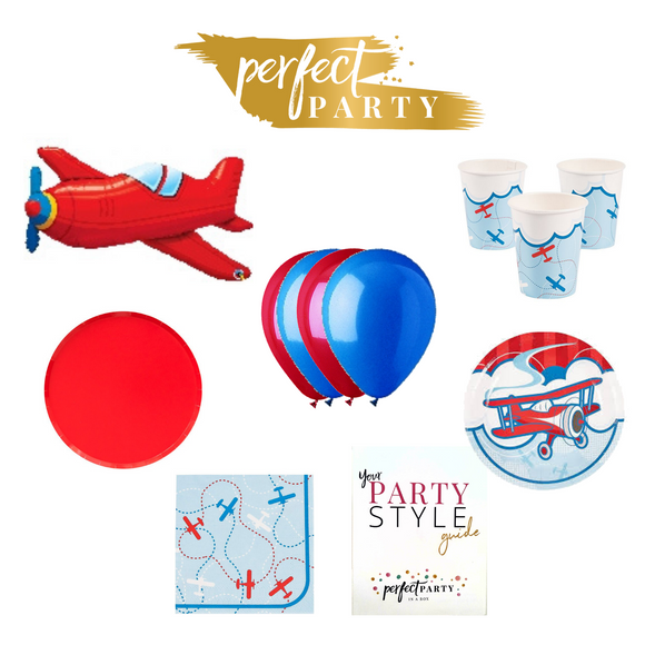 VINTAGE AIRPLANE PETITE PARTY