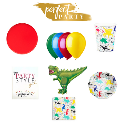 Dinosaur Petite Party Vision Board