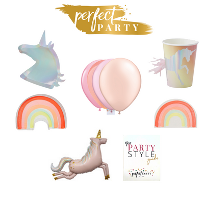 Unicorn Petite Party In a Box Vision Board