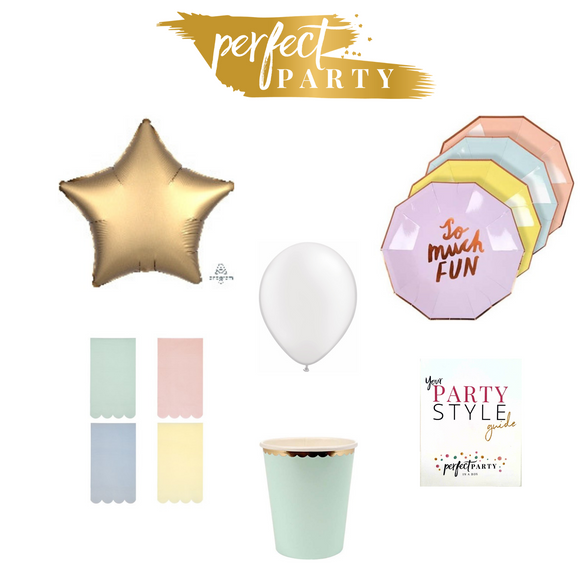 PRETTY IN PASTEL PETITE PARTY