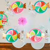 Candy Paper Party Plates