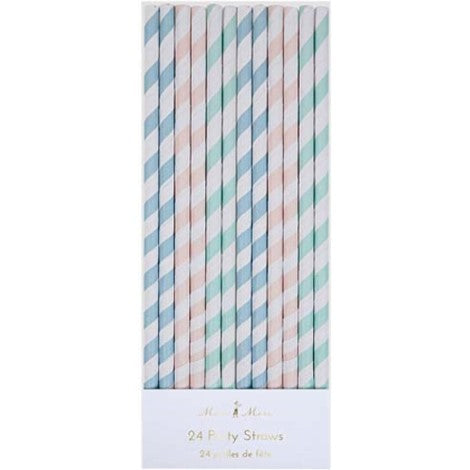 Pastel Straws Party Essentials