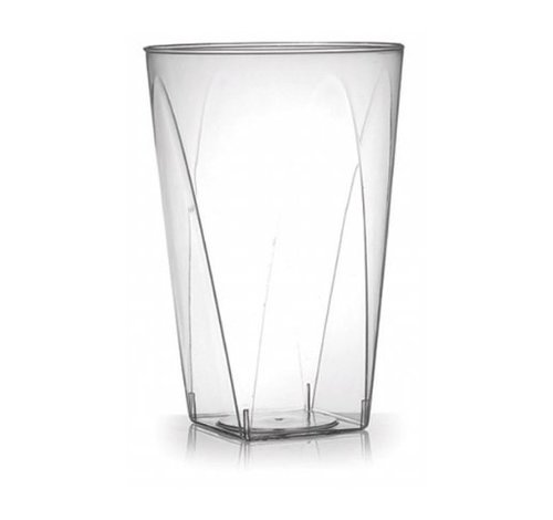 Plastic Square Bottom Tumblers