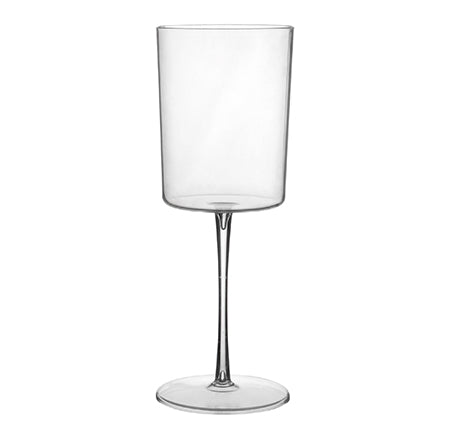 Clear Tall Disposable Wine Glasses