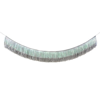 Silver Tinsel Fringe Garland Party Decorations