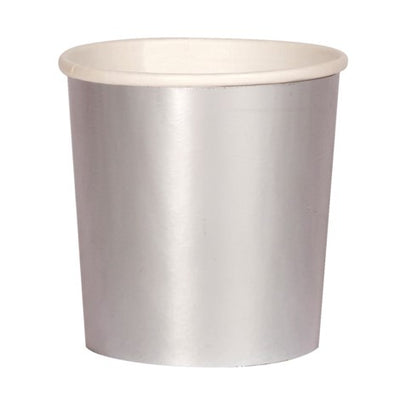 Perfect Party in a Box Silver Tumbler Party Cup Party Essentials