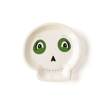 Halloween Skelton Shaped Plate Party Decoration