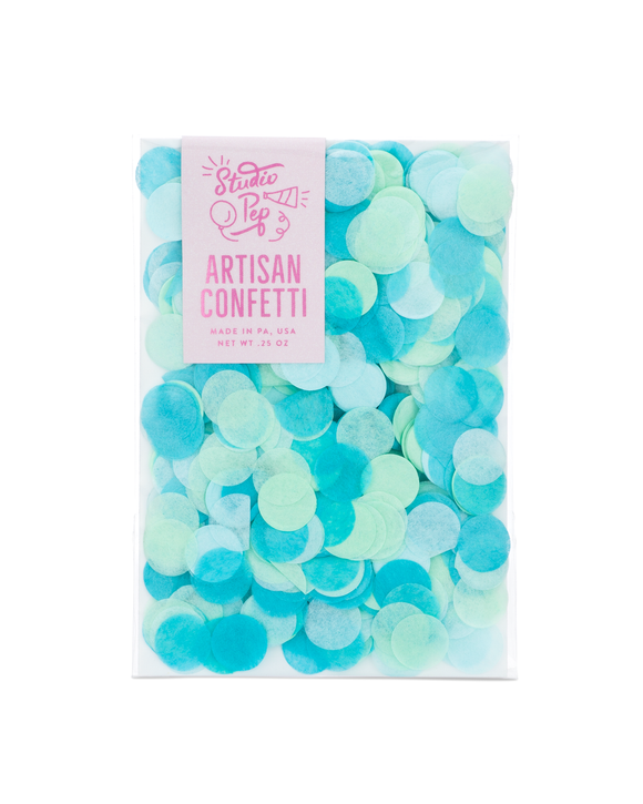 Perfect Party in a box Berry Blue Confetti Party Decor