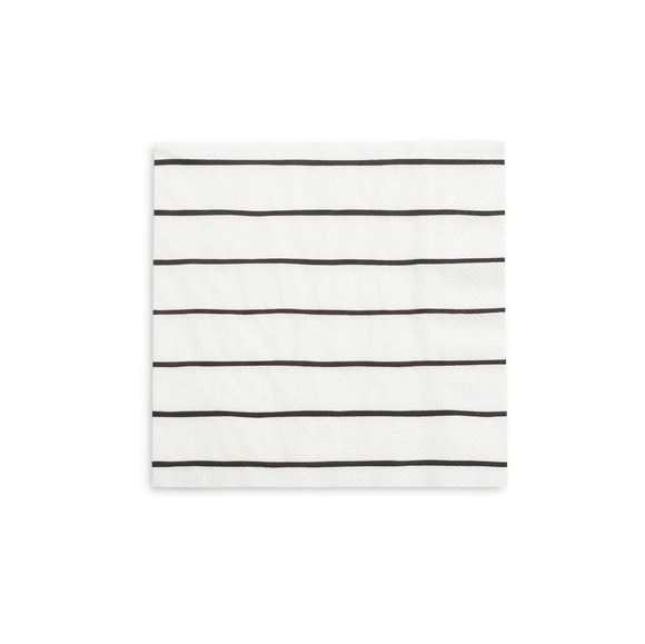 French Striped Napkins