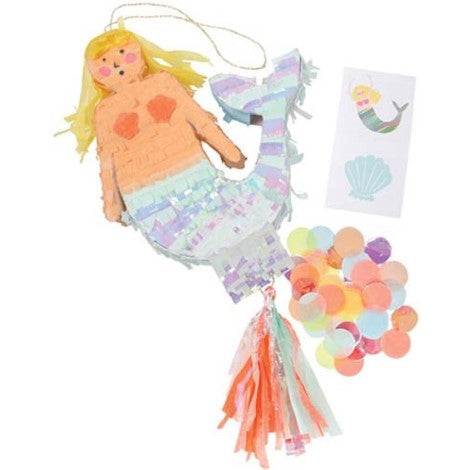 Mermaid Piñata Favour