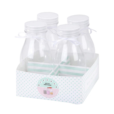 Perfect Party in a Box Mini Milk Bottle Set