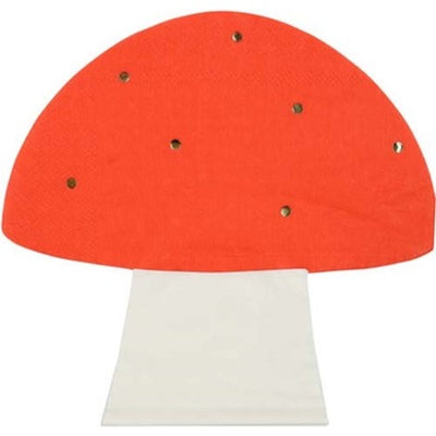 Mushroom Shaped Party Napkins