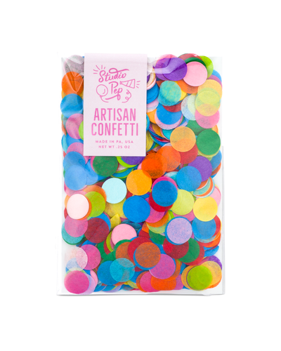 Perfect Party in a box Rainbow Confetti Party Decor