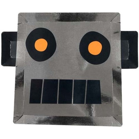 Robot Shaped Party Paper Plate