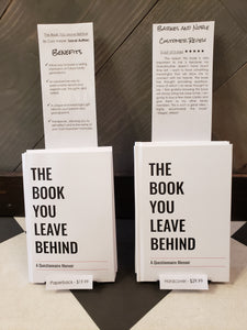 The Book You Leave Behind Hardcover