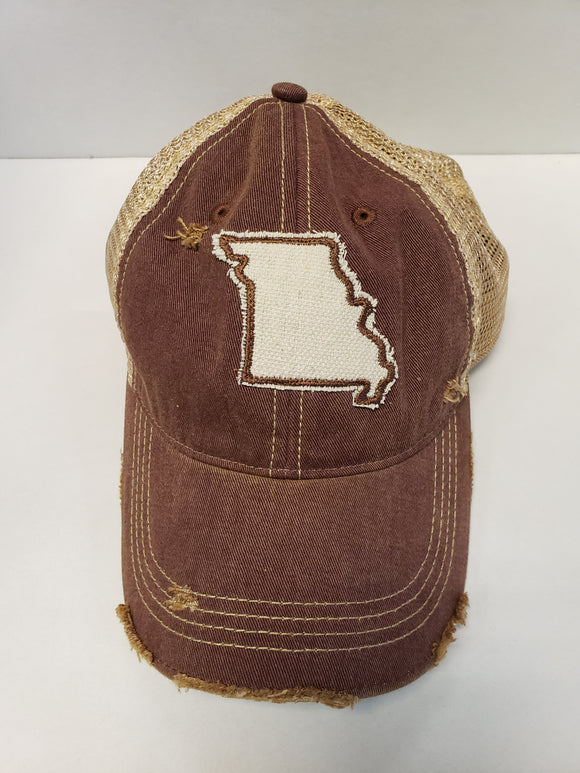 Missouri on Maroon Hat
