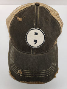 Semicolon Project Hat