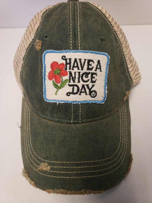 Have a Nice Day Hat