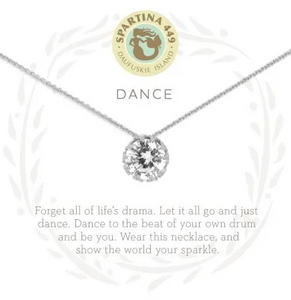 "Spartina Sea La Vie Necklace 18"" Dance/Gem SIL"