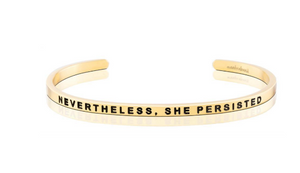 Nevertheless, She Persisted MantraBand