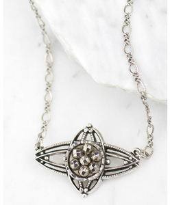 Miette Necklace in Silver