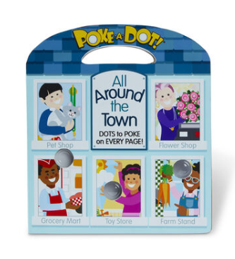 Melissa & Doug PPoke-a-Dot: All Around Our Town