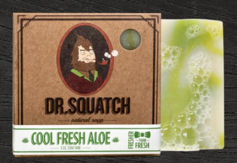 Dr. Squatch Cool Fresh Aloe Soap