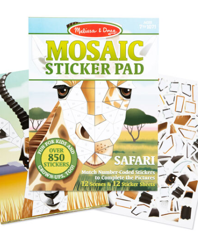 Melissa & Doug Mosaic Sticker Pad - Safari