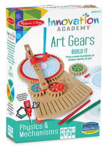 Melissa & Doug Innovation Academy - Art Gears