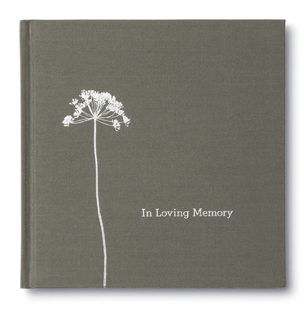 In Loving Memory gift book