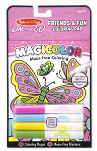 Melissa & Doug Magicolor Coloring Pad Friendship
