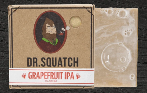 Dr. Squatch Grapefruit IPA Soap