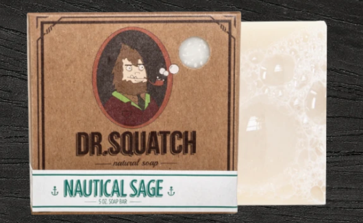 Dr. Squatch Nautical Sage Soap