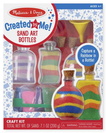 Melissa & Doug Created by Me! Sand Art Bottles Craft Kit